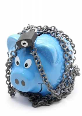 Locked Piggy Bank